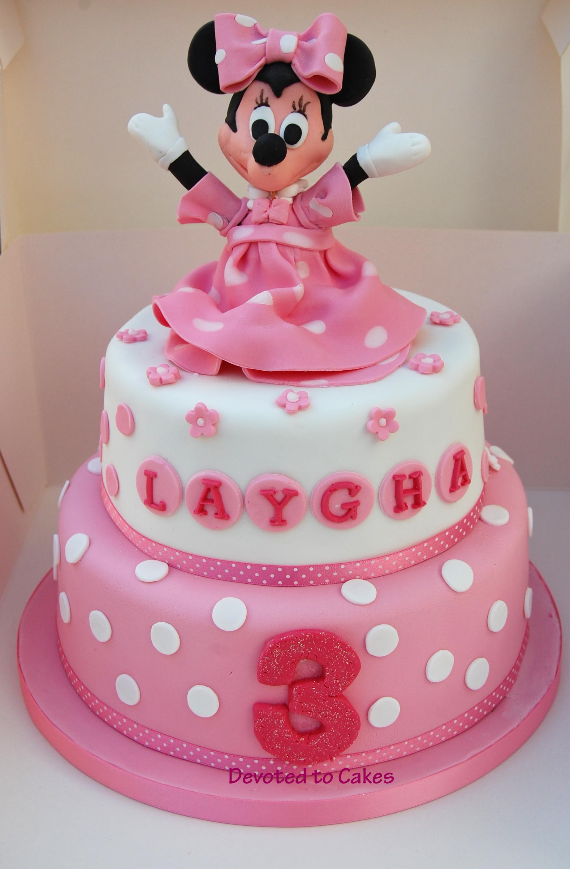 Cake Design Minnie : Devoted To Cakes