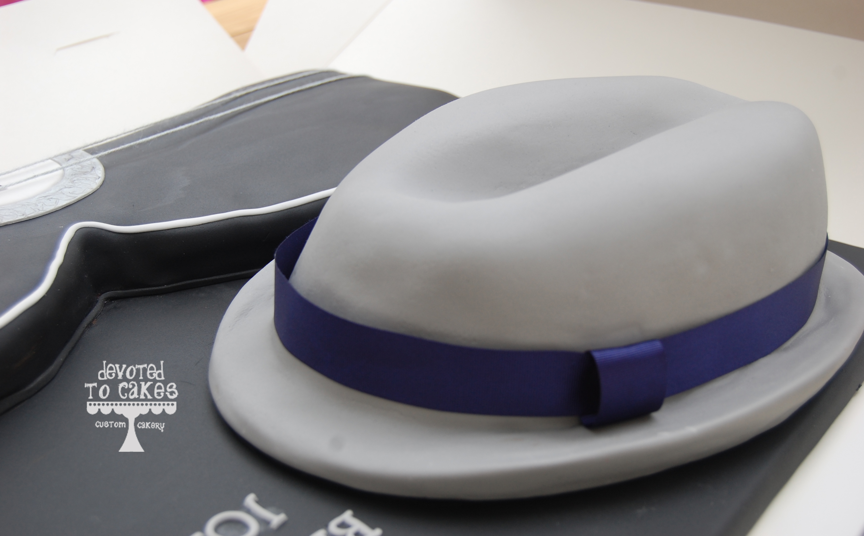 """The making of """"Jack the Hat"""" Cake"""