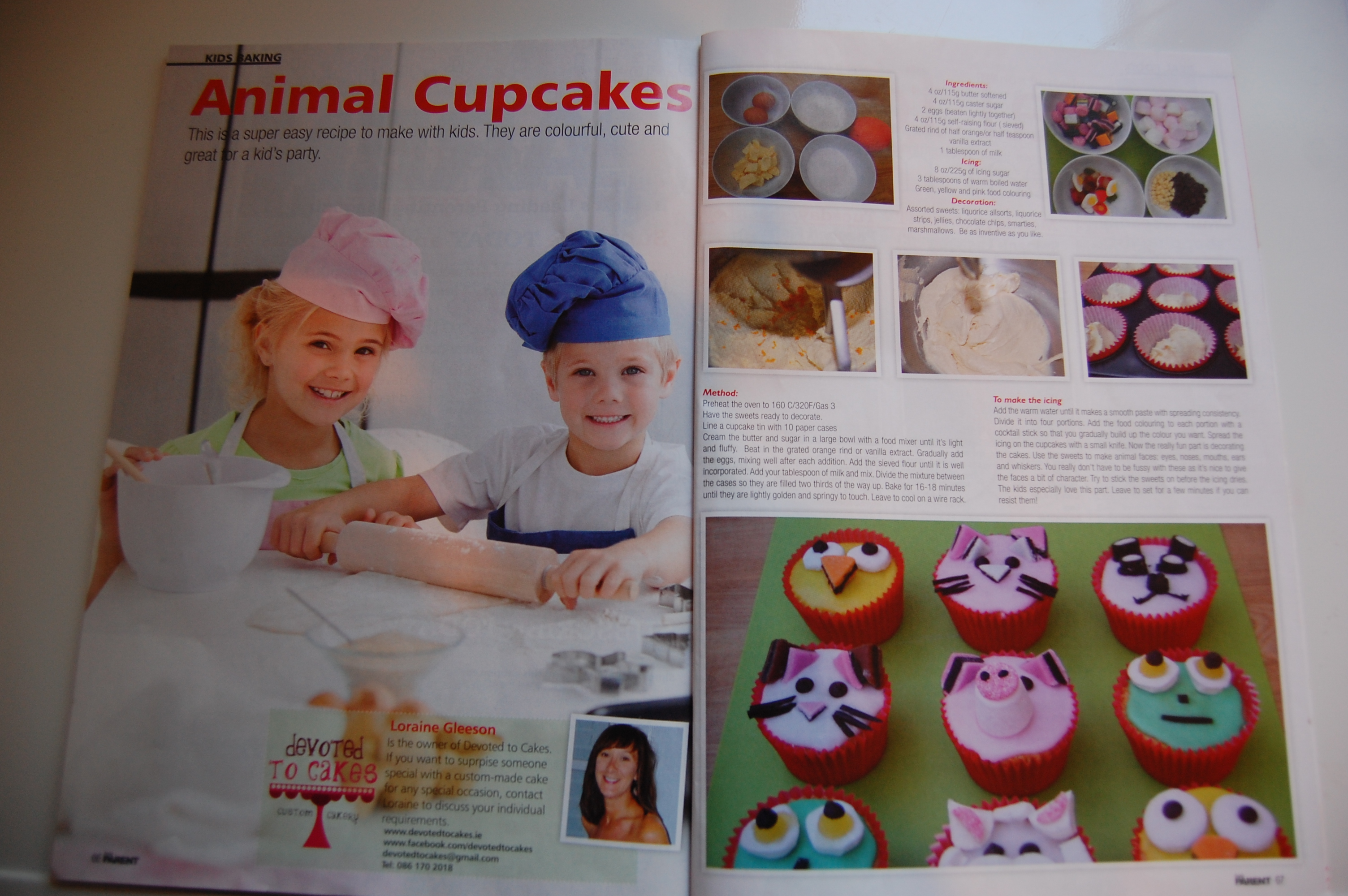 Baking Feature – Irish Parent Magazine Feb/March issue