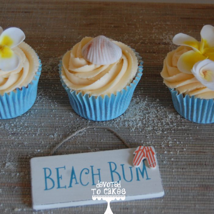 Beach cupcakes – Inspired by the islands of Indonesia