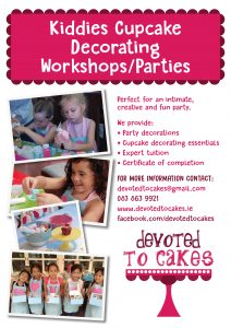 Devoted to cakes A4 poster v2
