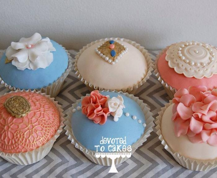 Adults Vintage Cupcake Workshop