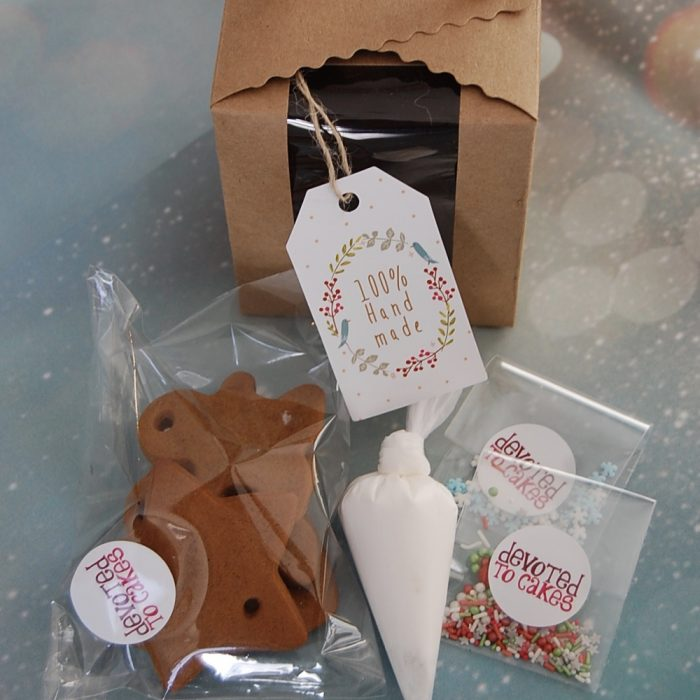 Gingerbread hanging decoration kits