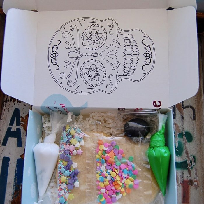 Decorate your own Sugar skull Cookie!