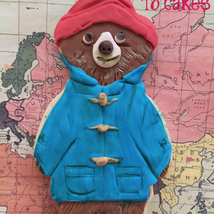 Paddington Bear Cookie Tutorial