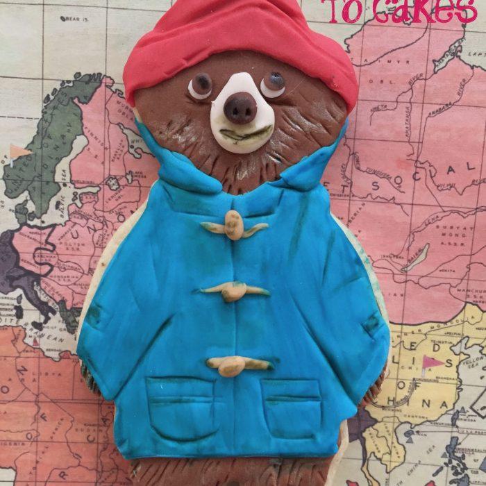 Paddington Bear Cookie Tutorial