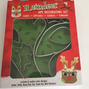 Reindeer cake decorating set