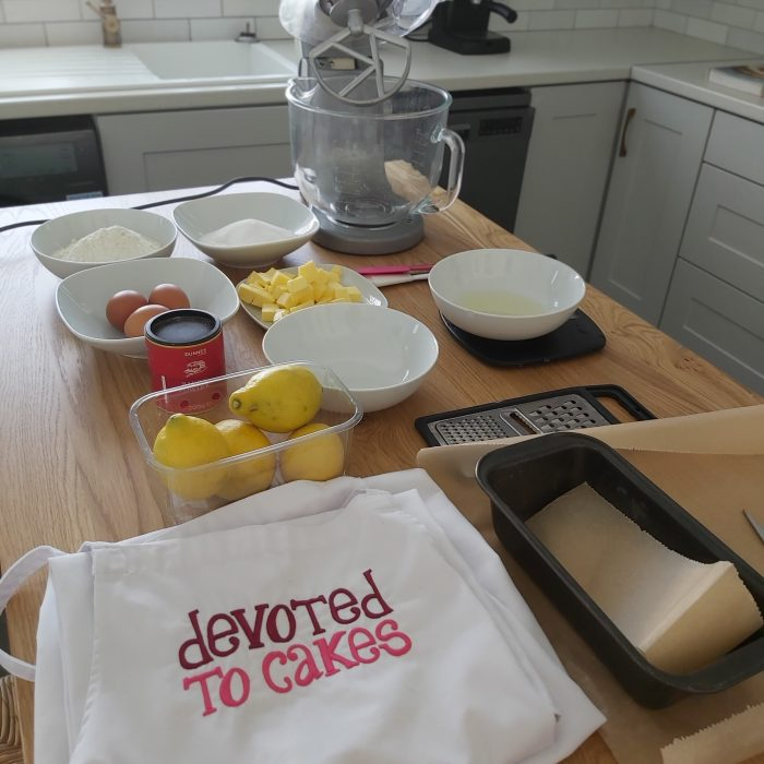Watch Our Live Bake Along -Lush Lemon Poppy Seed Cake