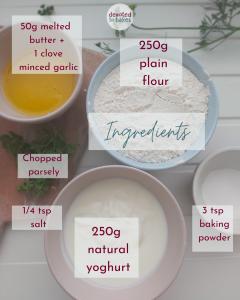 Flatbread ingredients
