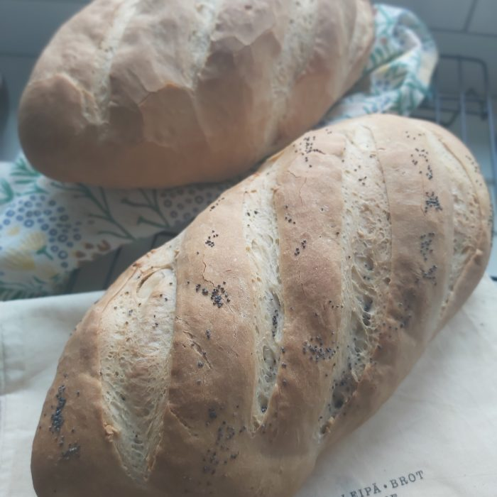 Traditional Crusty Bloomer Loaf
