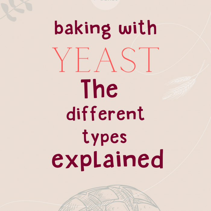 Baking with yeast – the different types explained